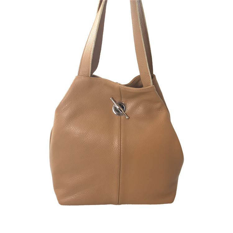 Taupe Leather Handbags For Women Genuine Leather Bags Real Leather Ladies Made In Italy