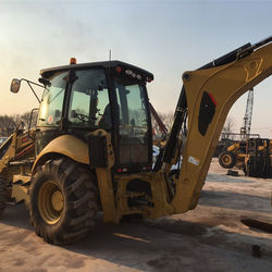 used Caterpillar loader backhoe 420F, CAT 416e 420e 420f backhoe loader for sale