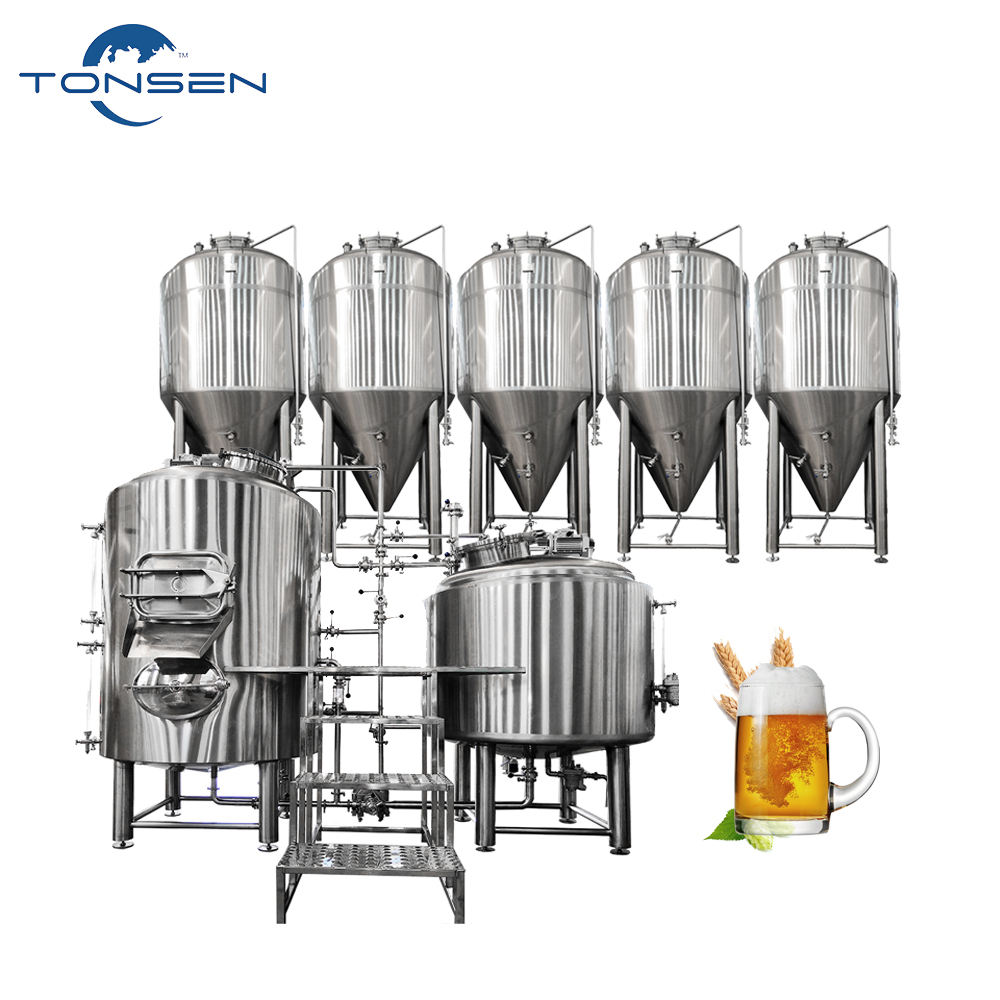 stainless steel 500 liter beer conical fermentation tank for craft beer brewing equipment