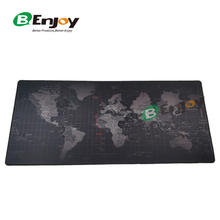 Large World Map Desktop Gaming Mouse Pad