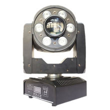 Guangzhou Disco Lighting 30W Gobo Spot + 6*8W RGBW 4in1 Mini LED Moving Head Wash