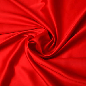 Danlu Textile silk fabric satin polyester satin fabric satin stretch fabric for garment