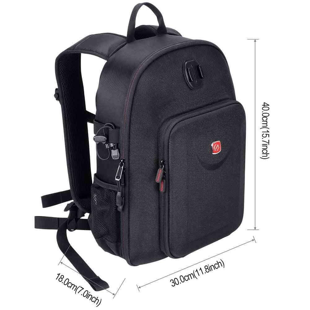 Smatree DP1800M2 mochila impermeable Compatible con Mavic de DJI 2 Pro/DJI Osmo bolsillo/DJI Osmo acción