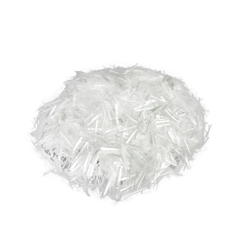High strength Diameter 10~13um glass fiber chopped strands for concrete