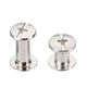 Stainless steel pan flat pozi chicago screw