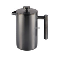 1000ml Highly polished French Press Coffee and Tea Maker with stainless steel filter 8 Cup for Christmas