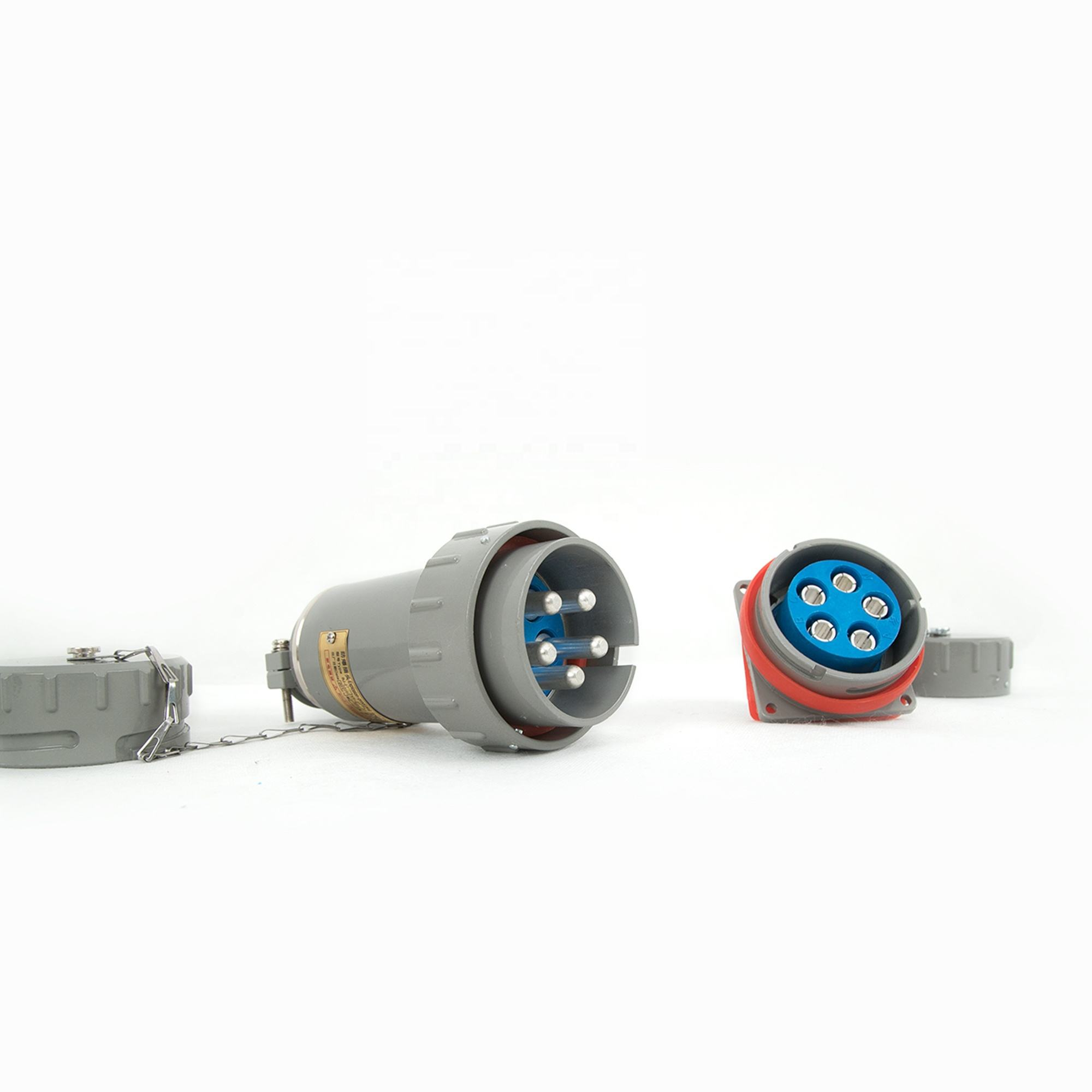 Ex 300A Yt GZ-5 Vonkvrij Drie-Fase Vijf-Polige Connector