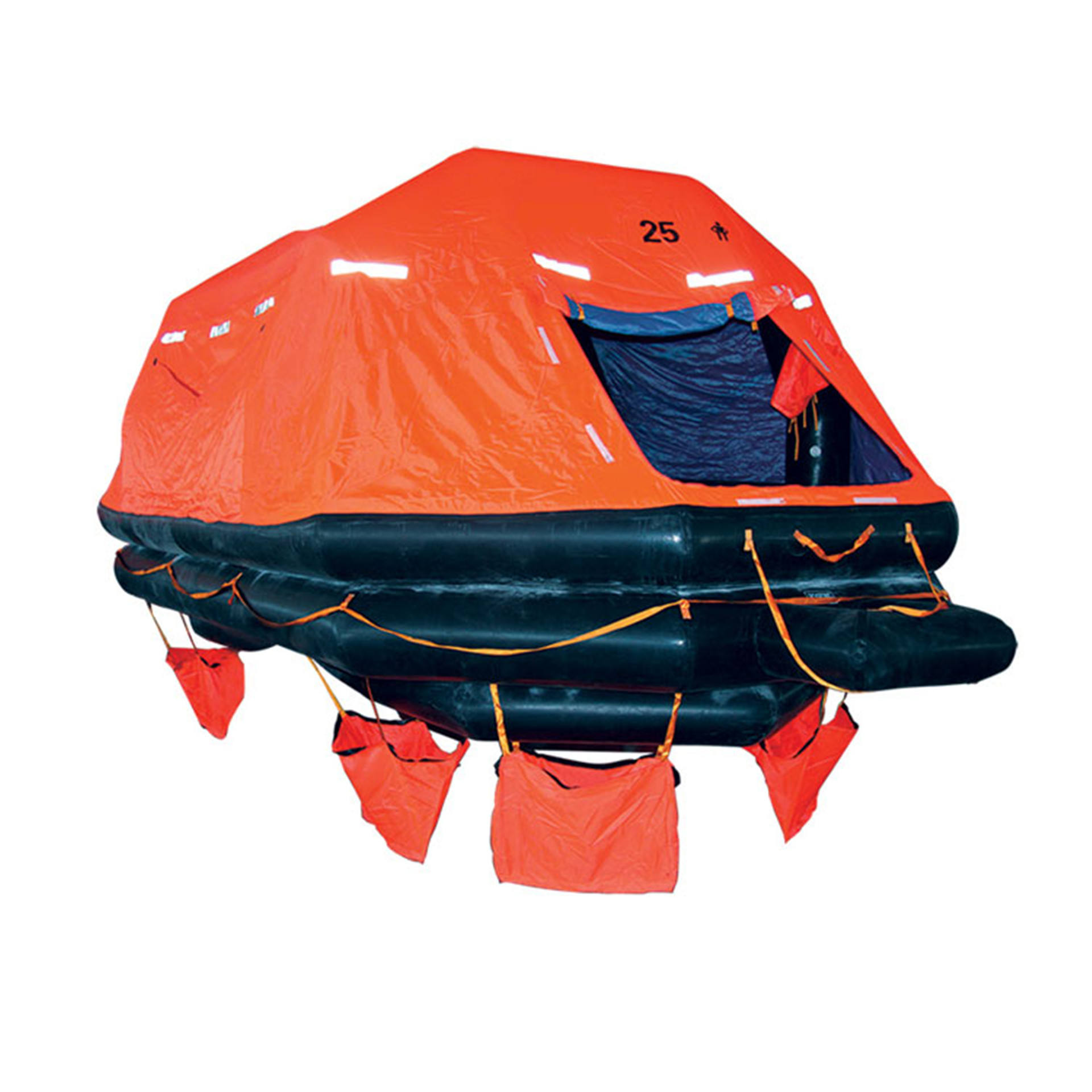 Wholesales 20 person Throw Overboard Inflatable Life Rafts