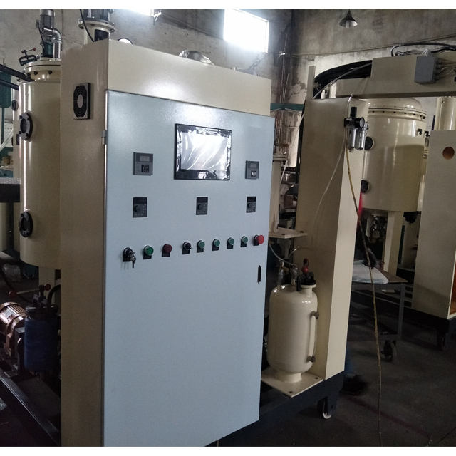 Polyurethane elastomer coatings machine