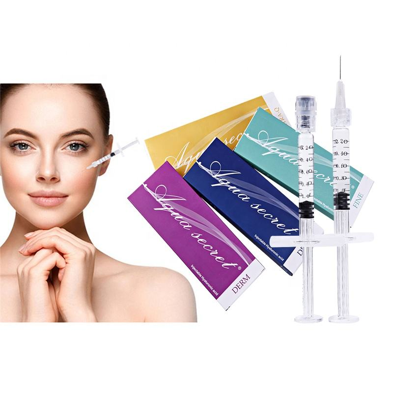 Korean Sterile cosmetic prefilled syringe mesotherapy ha injectable cross linked dermal filler hyaluronic acid