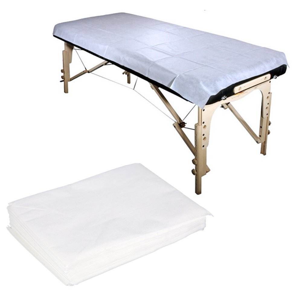 Hotel Home Beauty Room Use Pp Non-woven Disposable Bed Sheets Waterproof Hospital Medical Bedsheet