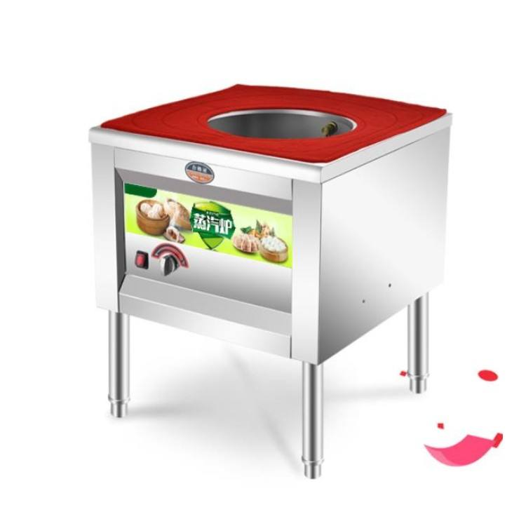 A new type of stainless steel steamer machine steam bun steamer gas steam cooker