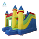 Outdoor Commercial Advertising Inflatables Jumping Bouncy Castle Bounce House With Slide