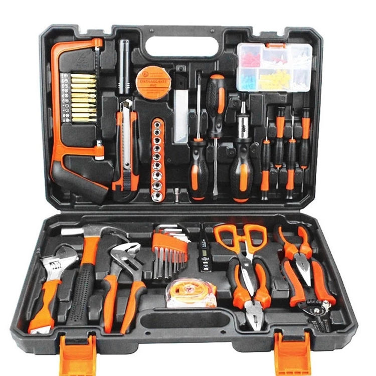 102 Pcs Multi-Purpose Hand Tool Set For Household