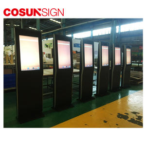 Cosun Interaktive Touchscreen 42 zoll Multimedia Selbst Service Bargeld Dispenser Kiosk