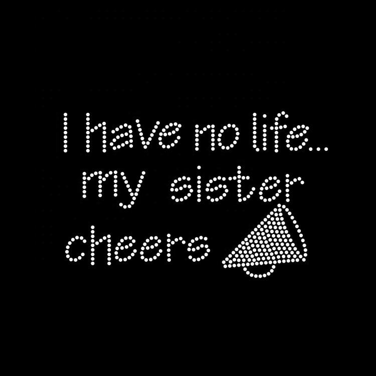 Wholesale High Quality Cheer Sister Rhinestone Transfers For Clothing
