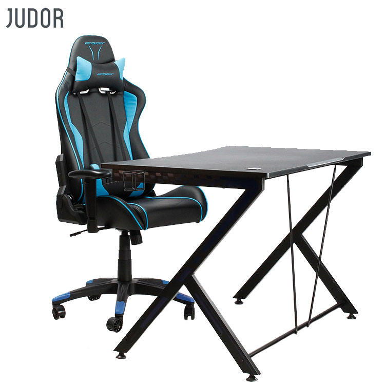 Judor Free Sample Gaming Desk pc Computer Table racing Desk Chair Office furniture