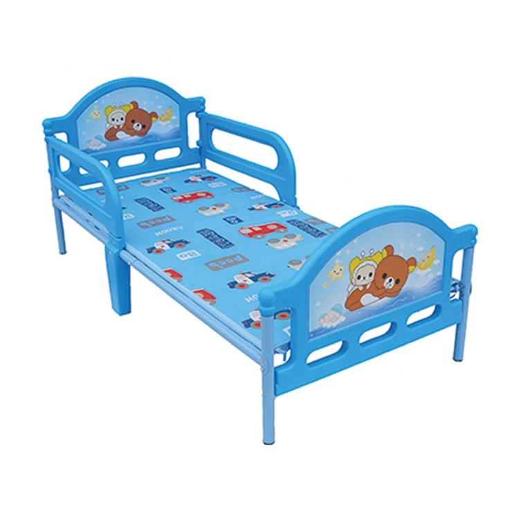 Groothandel Baby Staal <span class=keywords><strong>Bed</strong></span> Kind Bedden Kind Iron Cot Custom Made Baby <span class=keywords><strong>Bed</strong></span>