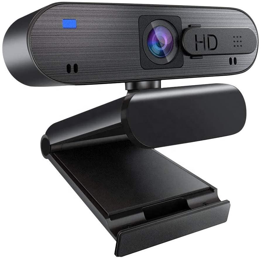 1080P Webcam with Microphone & Privacy Cover & Auto Focus, Laptop Camera for Video Recording, Conference, Online Classes