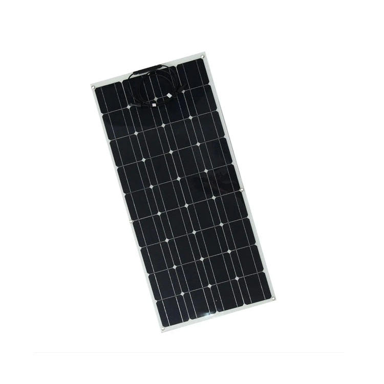 Thin Film 100 Watt Solar Panel Mono Flexible PV Module for Touring Car with Cheap Price
