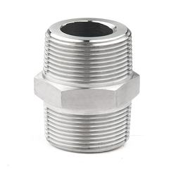 Stainless Steel 304/316 Hex Nipple Adaptor pipe fitting  reducer union from  China factory