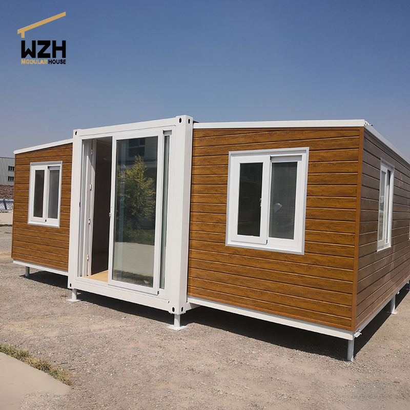 Australia wooden grain Eco houses luxury house out sterilizing room mobile home expandable container house