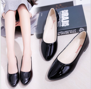 Factory Price Fashion Candy Color Classic Style Simple Ladies Flat Shoes for Women