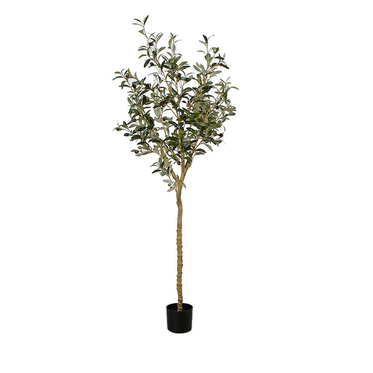 170cm High-quality Artificial Olive Tree Ornament Plants Wood Trunk for Sale