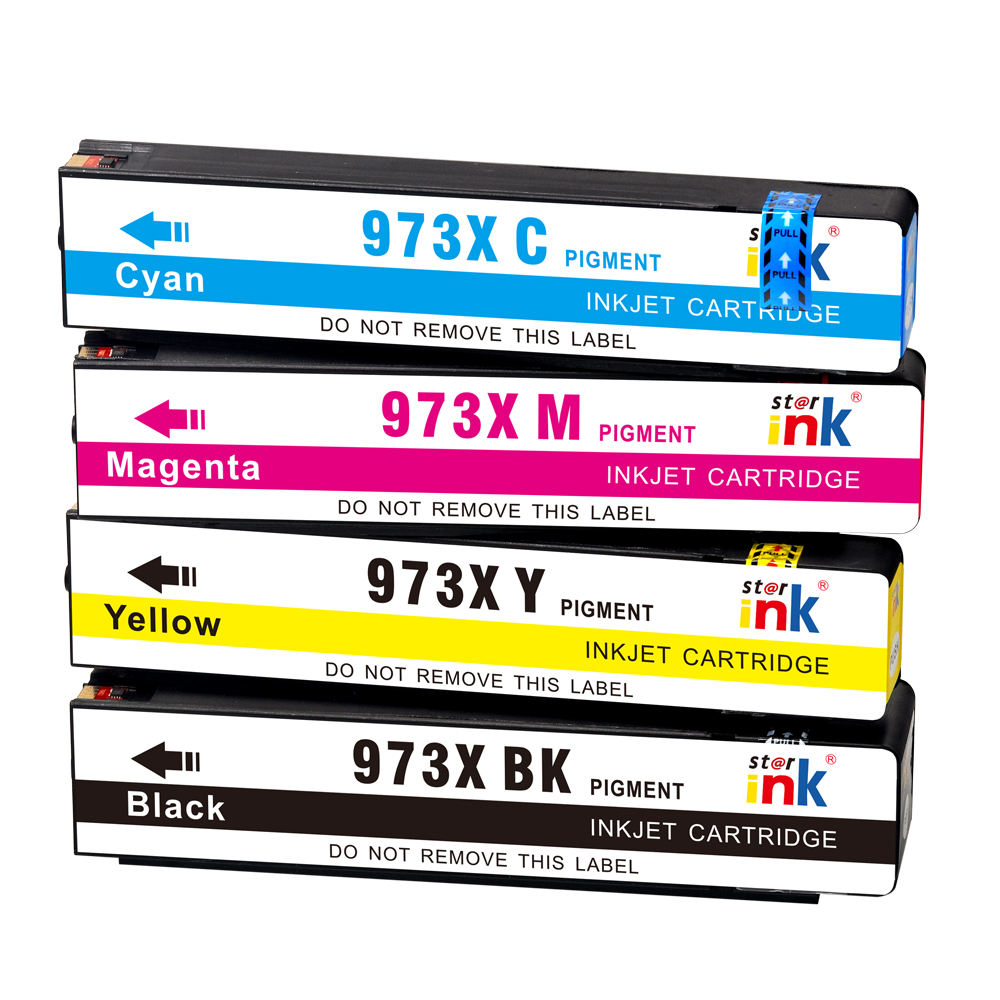 Wideformat Pigment Ink New Compatible Ink Cartridge with 973XL