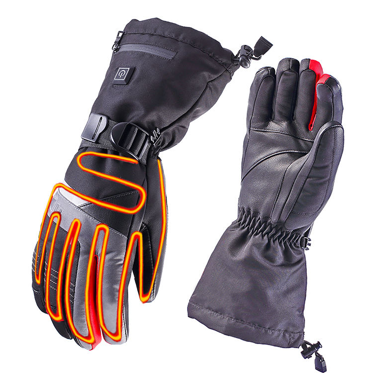 7.4V Waterproof Rechargeable Battery Electrical Ski Motorcycle Heated Gloves