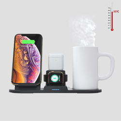 Wholesale QI wireless charger N39 Thermostat Warmer Mug Char