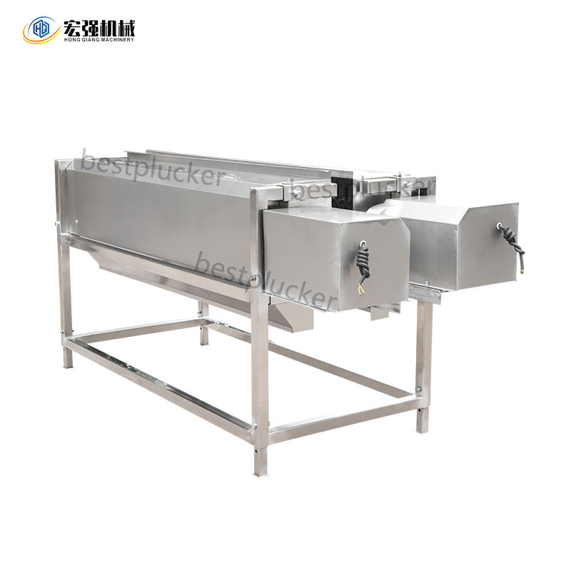 Poultry Slaughtering Equipment chicken head and neck Plucker Feather Plucking Machine
