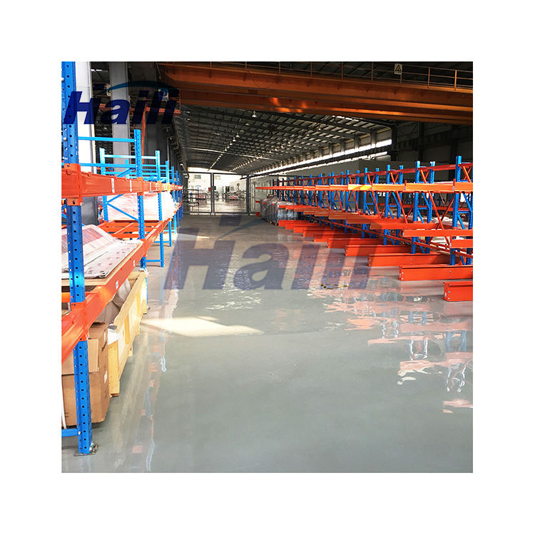 Warehouse storage industrial heavy duty i beam cantilever rack