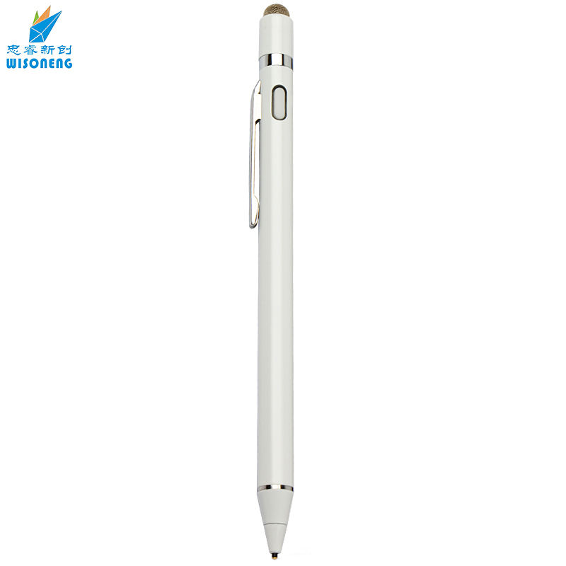 1,45mm Aktive Kapazitive Touch Screen Stylus Pen für ipad iphone Tablet High Sensitive für Zeichnung und Handschrift Metall Stift