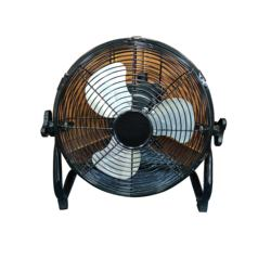 Floor fan HJ-12RF solar rechargeable fan 12 inches  24V  rechargeable solar battery operated fan