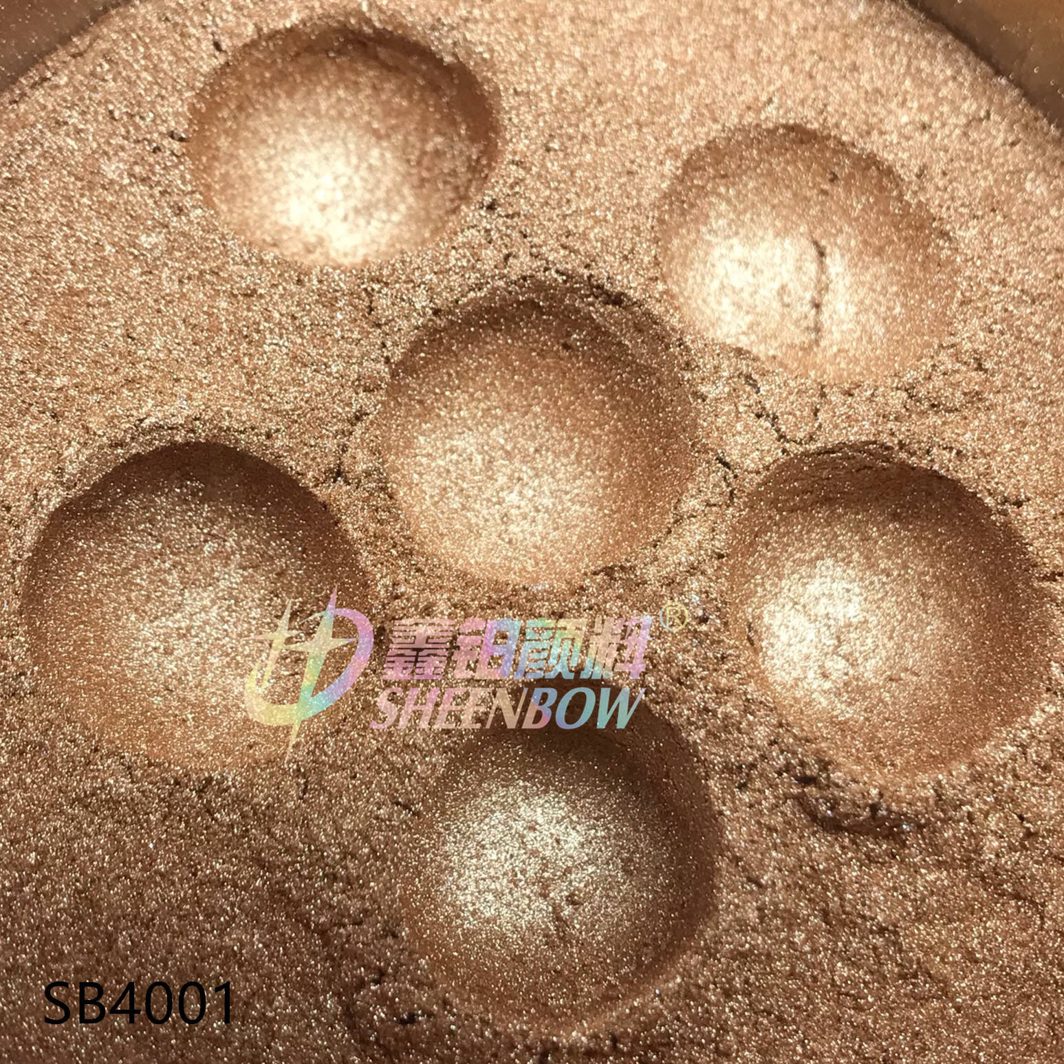 Brown pearlescent pigment for Highlight Eye shadow