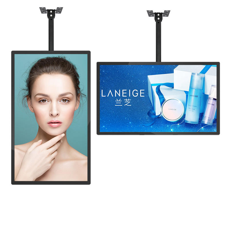 21.5 Inch Advertising Icd Display Digital Signage und Displays Advertising Player Kiosk mit Plastic Frame