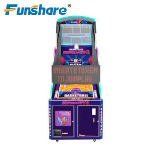 top quality amusement park arcade shooting coin operated hot sale basketball arcade game machine