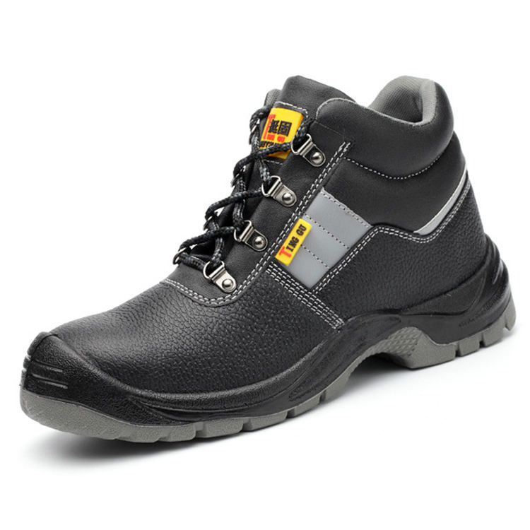 Waterproof Anti-slip Anti-puncture Construction work Shoes Hiking Men Groundwork Safety Boots
