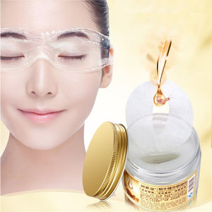 Private Label Gold Crystal Collagen Anti-wrinkle Anti Aging Mask Eye Patch Snail Eye Mask