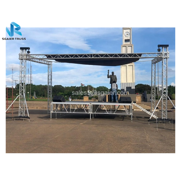 Top quality 290mm aluminum frame truss structure/Event Aluminum Spigot/Bolt Truss