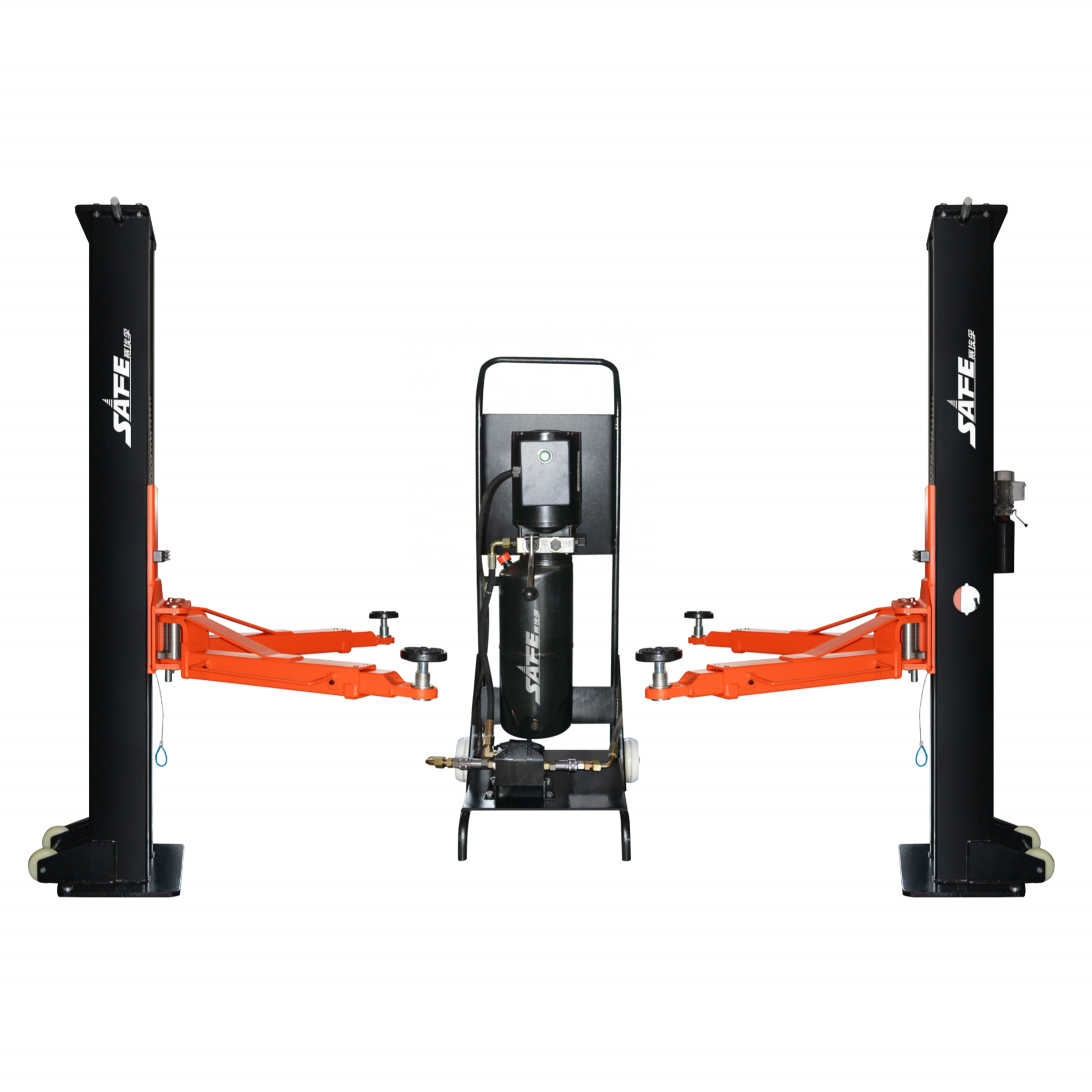 smart portable lift two post car lift