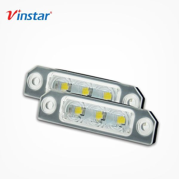 Vinstar Extreme Bright LED License Plate Light Lamp Assembly For Ford Mustang 20-14 Fusion 06-12 Flex 2009-2017