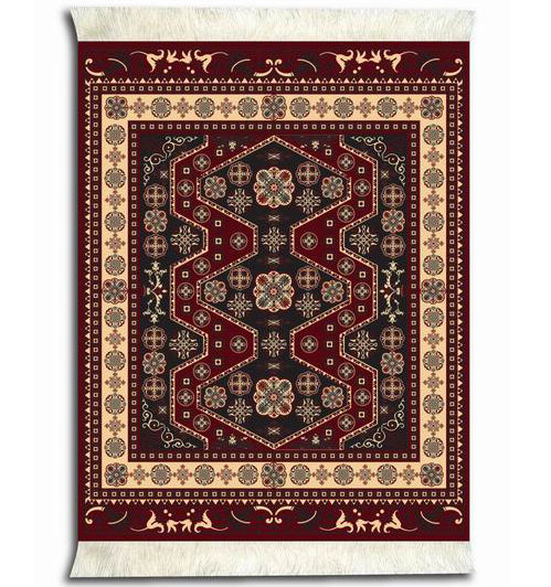 Oriental rug customized vintage printing mouse pad