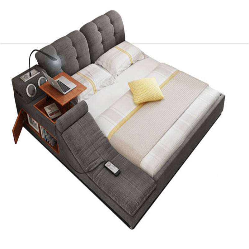 king size bedroom sets ultimate bed With Integrated Massage Chair, Speakers and Desk