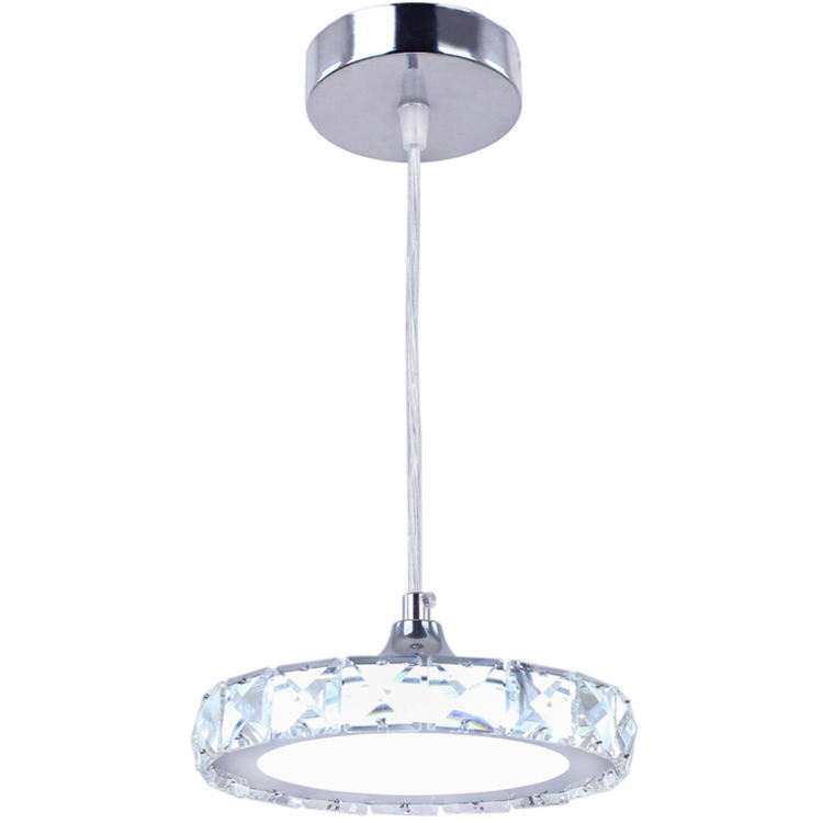 European Mini Pendant Ceiling Light Crystal + Acrylic Led Lighting Lamparas Led Ceiling Lamps for Kitchen Island Bedroom MP017