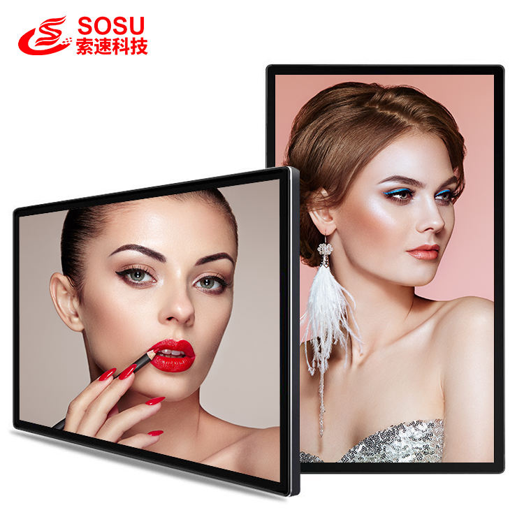 32 inch wall mount digital signage media player advertising display Android OS system
