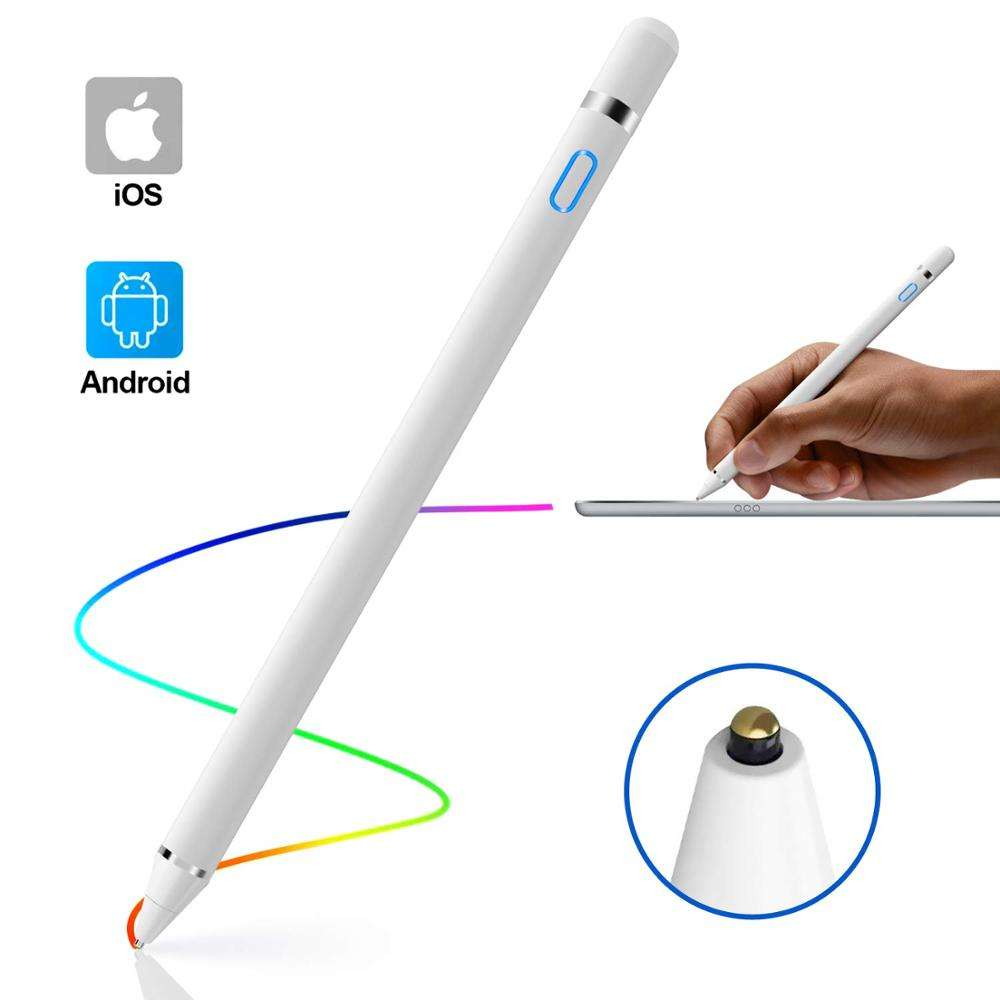 2 in 1 Touch Bildschirme Aktive Stylus Pen Digitalen Stift für iPhone iPad Samsung Telefon Tabletten