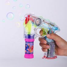 China wholesale websites kids bubble gun bubble blower toys Space bubble gun
