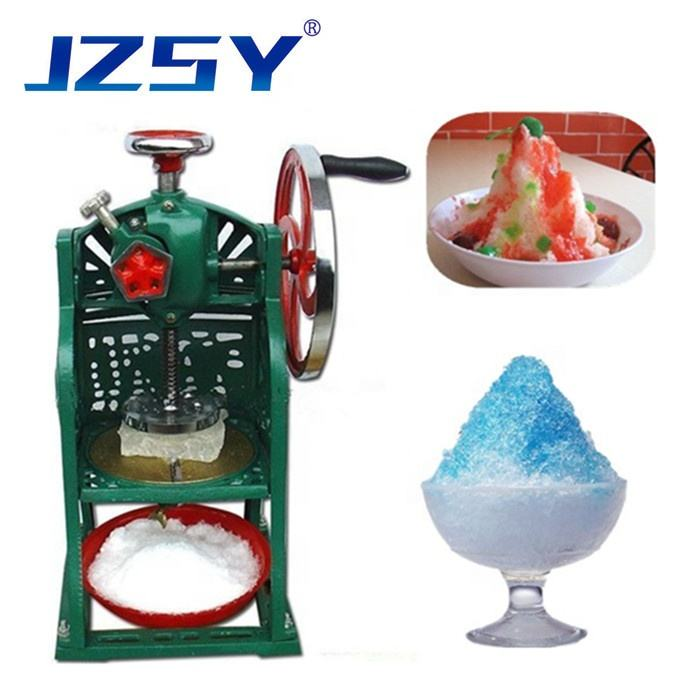 JZSY Harga Grosir Komersial Manual Ice Crusher Es Alat Cukur Es Cukur Mesin Breaker